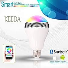 MagicLight Beats Bluetooth Color Changing LED Light Bulb with