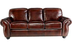Rooms With Brown Couches by Affordable Brown Leather Sofas Rooms To Go Furniture