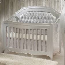 Bedroom Charming Baby Cache Cribs With Curtain Panels And by Natart Allegra Tufted Headboard Panel For The Allegra
