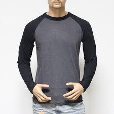 plain long sleeve baseball t shirts for men jersey vintage tee
