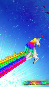 Rainbow Unicorn Wallpaper For Android 3 By Arn96