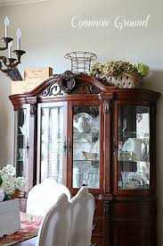 How To Decorate A China Cabinet As Most Things Do Now It Takes My Hubbys Help