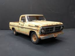 1972 Ford Pick Up Truck (pro Built) | EBay | Junkyard Models ... New Ford Trucks For Sale Mullinax Of Apopka 2018 Super Duty F450 King Ranch Pickup Truck Model 2017 F250 Priced From 33730 Autoguidecom News Cars And Coffee Talk Lightning In A Bottleford Harnessed Rare Xl Hlights F150 Energy Country Mazda Bt50 First Photos Rangers Sister 125 Moebius Models 1971 Ranger Kit 1208 Specs Fordcom Classic For Classics On Autotrader