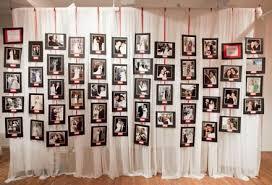 Wedding Decor Photo Memory Wall