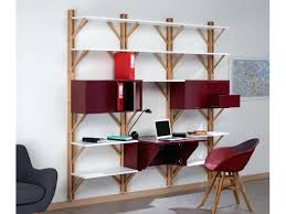 meuble bibliotheque bureau integre bureau bibliotheque onefashion info