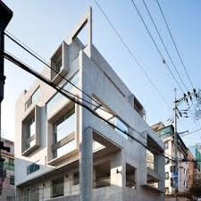 Studio GAON Creates Multiple Frames On Seoul Photography Facade DesignExterior