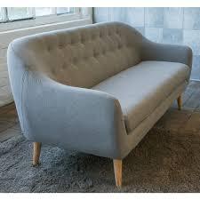 designer canapé canapé design scandinave capitonné cirrus drawer