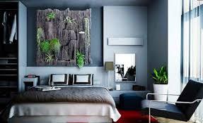 Bedroom Ideas Gray Wall Color Vertical Garden Wood Houseplants Decoration