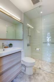 bathroom towel rack spaces contemporary with recessed lighting