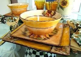 Sunflower Decor For Kitchen Ideas Wonderful Shape Theme Rustic