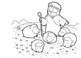 Bible Coloring Pages Preschoolers