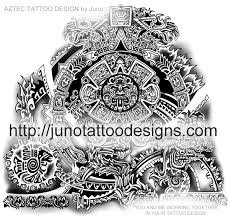 Aztec Tattoo Mayan Mexican Custom Design Arm
