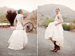 Gorgeous Etsy Wedding Dresses Handmade Bridal Gowns Rustic Elegant Minus The Boots Cant Do Cowboy