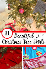 Check Out This Beautiful Collection Of 11 Christmas Tree Skirts You Can Make For Yourself