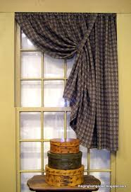 One Of The Many Primitive Style Curtains We Offer