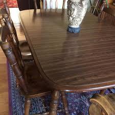Oak Dining Room Set Price Reduced