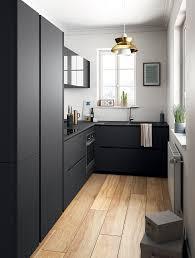 cuisine noir mat ikea modèles de cuisines matte black kitchens and contemporary