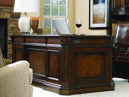 Shop for Hooker Furniture European Renaissance II Executive Desk and other Home fice Desks furniture Cherry and myrtle burl veneers with hardwood solids