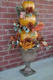 Pinterest Dryer Vent Pumpkins by Pumpkin Topiary In Urns Pumpkin Topiary Fall Decor Pinterest