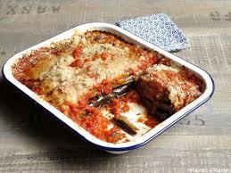 comment cuisiner l aubergine sans graisse aubergines à la parmigiana façon oliver