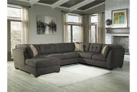 Jennifer Convertibles Sofa With Chaise by Delta City Steel 3 Piece Sectional W Laf Chaise Steel Living