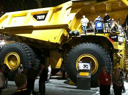 100 Cat Mining Trucks Erpillar Booth MINExpo 2012 University