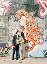 Big Ang Mural Brooklyn by Recent Wedding Brooklyn Bowl Shira And Alex Every Lovely Moment