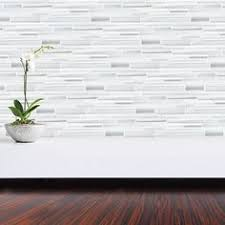 bliss iceland and glass linear mosaic tiles tiles