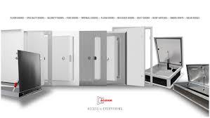Semi Recessed Fire Extinguisher Cabinet Revit by Door Hatches U0026 Custom Hydraulic Flat Hatch
