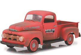 100 Sanford And Son Pickup Truck 118 Scale And 1952 Ford F1 Diecast Model 12997 Free