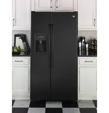 Counter Depth Refrigerator Dimensions Sears by Ge Profile Series 23 3 Cu Ft Counter Depth Side By Side