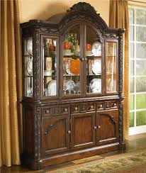 China Cabinet With Glass Doors By Millennium