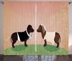 gardine schlafzimmer kräuselband vorhang mit schlaufen und haken abakuhaus dackel hund heirat kaufen otto