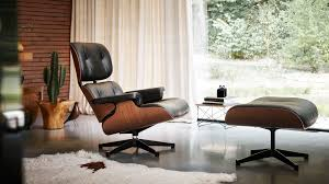 Furniture: Exquisite Eames Lounge Chair And Ottoman With ... Eames Lounge Chair Ottoman Replica Aptdeco Black Leather 4 Star And 300 Herman Miller Is It Any Good Fniture Modern And Comfort Style Pu Walnut Wood 670 Vitra Replica Diiiz Details About Palisander Reproduction Set
