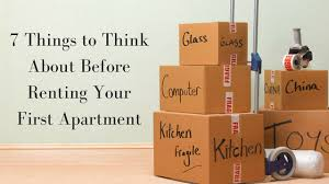 So Youre Ready To Rent Your First Apartment This Is No Doubt An Exciting Time But Before You Get The Set Of Keys New Digs Youll Need