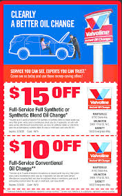 Valvoline Coupons