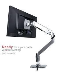desk dell monitor arm desk mount mount it articulating triple