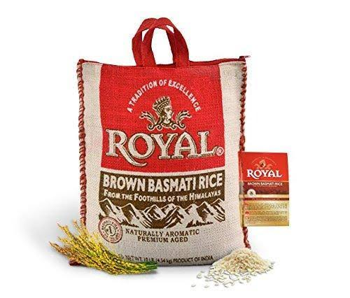 Royal Brown Basmati Rice - 10 lb bag