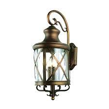 portfolio outdoor wall light shop in h specialty bronze sky