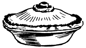 Pie in the face clip art clipart 2 · Pie clipart black and white