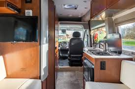Deluxe Van Conversion Camper DVC From CanaDream RV Rentals Rent Or Buy
