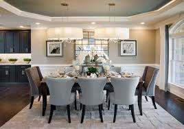 Toll Brothers Duke Carolina Model Home Dining Room