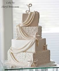 The Model Wedding Cake Created By Sheryl Brousseau