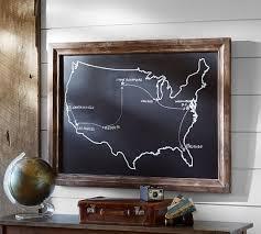 Chalkboard USA Wall Art