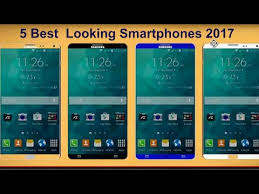 ➤5 Best Looking Smartphones 2017 6BG RAM Dual Curved Edge The