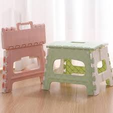 US $5.19 48% OFF|Plastic Multi Purpose Folding Step Stool Home Train  Outdoor Storage Foldable Bathroom Children's Bench Portable Stool #sx-in  Stools & ...