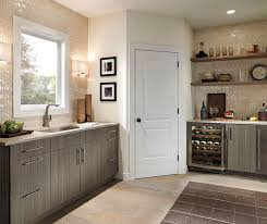 Thermofoil Cabinets In Bar Area By Kitchen Craft Cabinetry