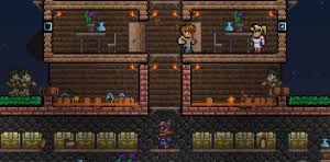 Pumpkin Moon Terraria by Guide Defending Against Events Official Terraria Wiki