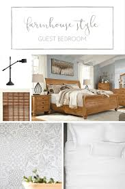 How To Create A Rustic Farmhouse Style Guest Bedroom