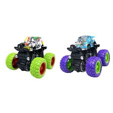 100 Kids Monster Trucks Details About Pull Back Pretend Toy Party Favors Creative For Boys
